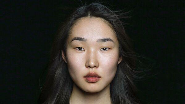 Cô gái người dân tộc Nivkh trong dự án The Ethnic Origins of Beauty - Sputnik Việt Nam