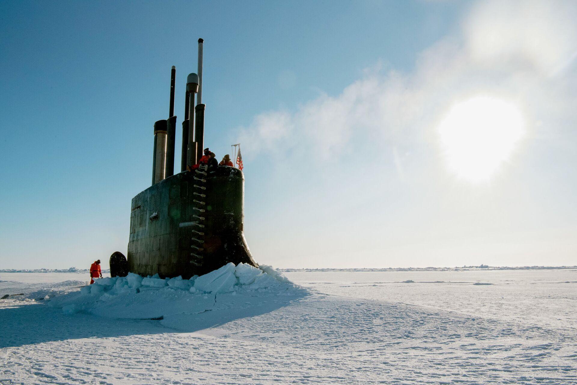 Mỹ khẩn cấp rút 1/3 hạm đội tàu ngầm ra Thái Bình Dương - Sputnik Việt Nam, 1920, 04.06.2021