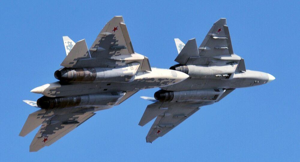 Tiêm kích thế hệ thứ năm Su-57.