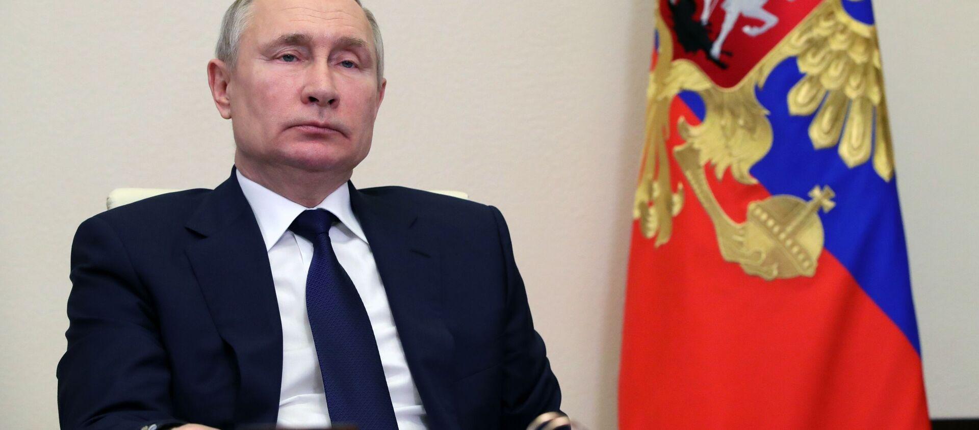 Tổng thống Nga Vladimir Putin. - Sputnik Việt Nam, 1920, 22.03.2021
