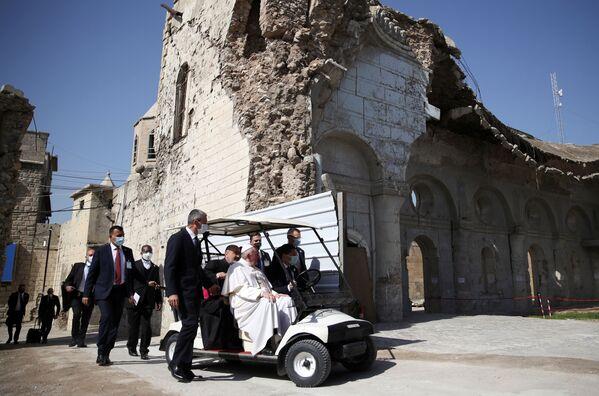 Đức Giáo hoàng Phanxicô trong chuyến thăm Iraq - Sputnik Việt Nam