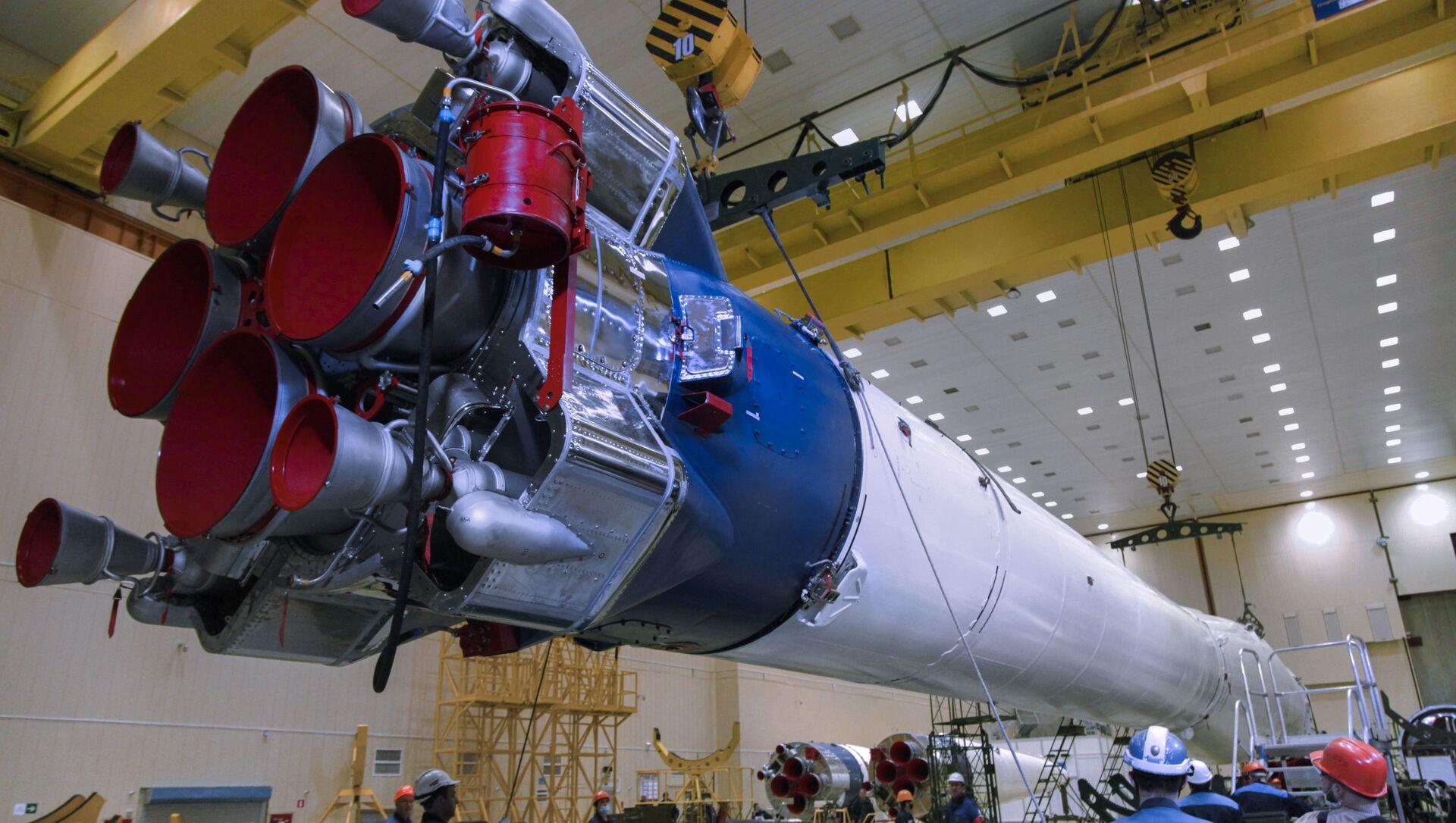 Thiết kế mới của tên lửa mang Soyuz. - Sputnik Việt Nam, 1920, 13.03.2021