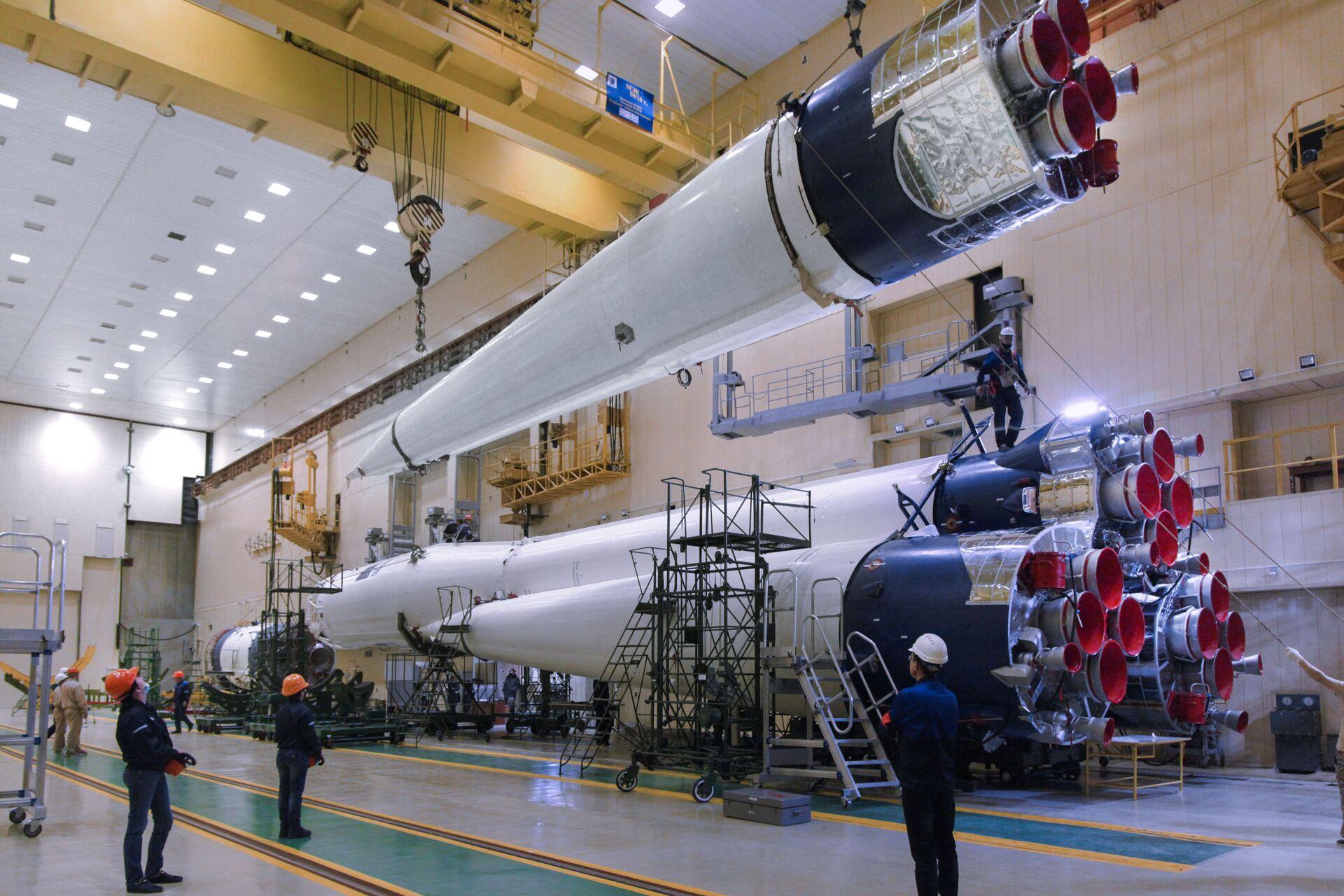 Tên lửa Soyuz thay đổi thiết kế lần đầu tiên sau nửa thế kỷ - Sputnik Việt Nam, 1920, 13.03.2021