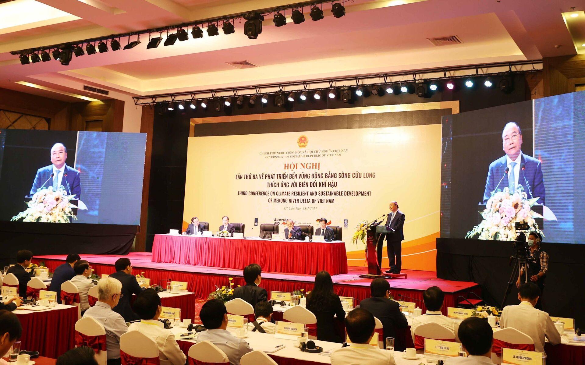 """Nghị quyết về phát triển ĐBSCL: Nhiều điểm sáng từ định hướng """"thuận thiên"""" - Sputnik Việt Nam, 1920, 13.03.2021"""