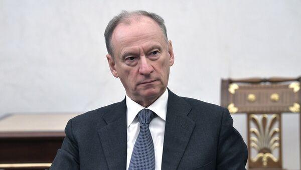 Thư ký Hội đồng An ninh Liên bang Nga Nikolai Patrushev tại cuộc họp của Tổng thống Liên bang Nga Vladimir Putin với các thành viên thường trực của Hội đồng An ninh Liên bang Nga - Sputnik Việt Nam