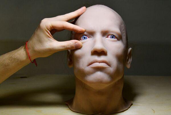 Trung tâm mô hình hóa robot hình người của công ty Promobot ở Vladivostok - Sputnik Việt Nam