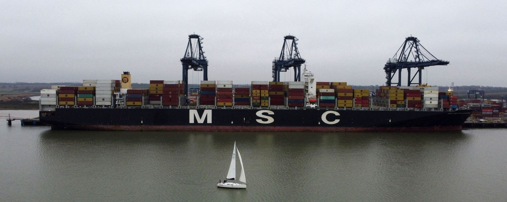 Tàu container MSC. - Sputnik Việt Nam, 1920, 17.03.2021