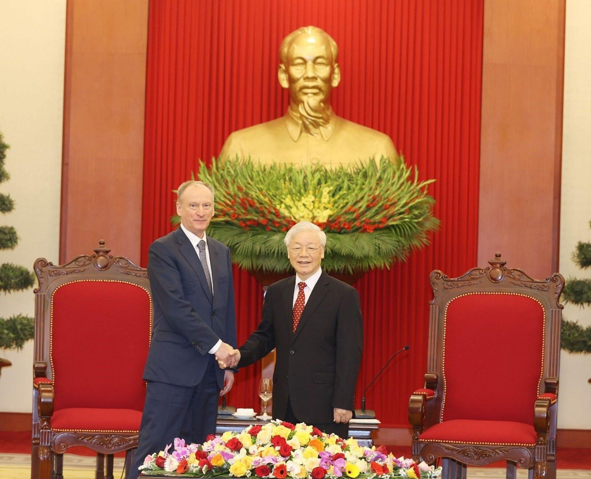 Ông Nikolai Patrushev sau chuyến thăm Hà Nội: Nga và Việt Nam không hề có bất đồng - Sputnik Việt Nam, 1920, 17.03.2021