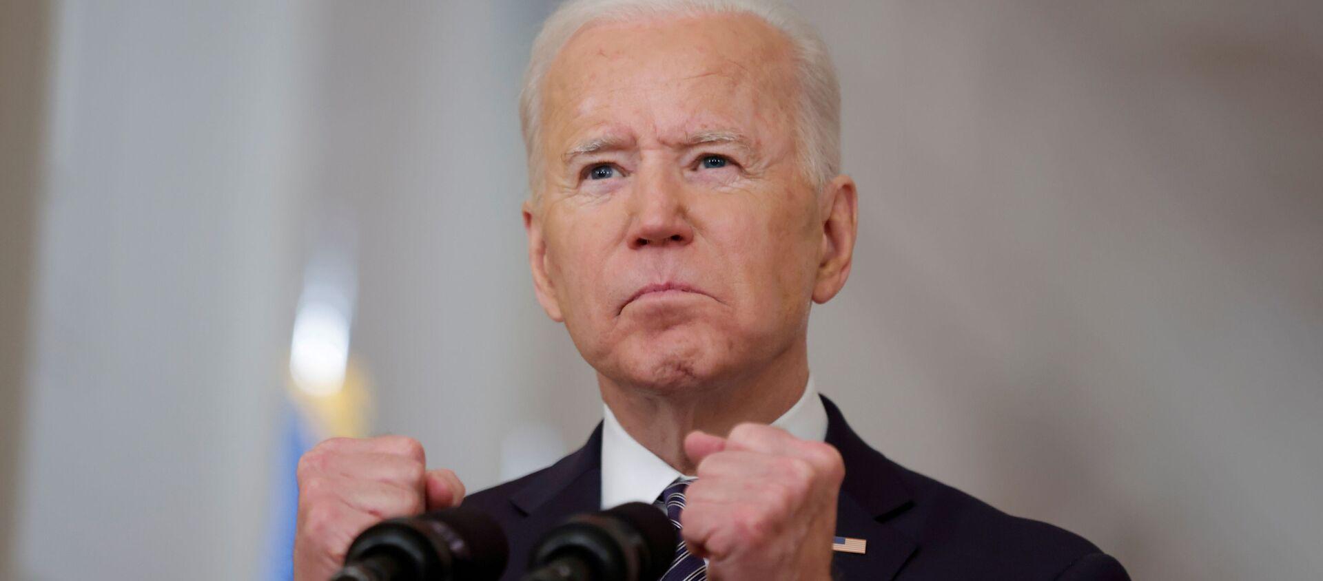 Tổng thống Mỹ Joe Biden - Sputnik Việt Nam, 1920, 18.03.2021