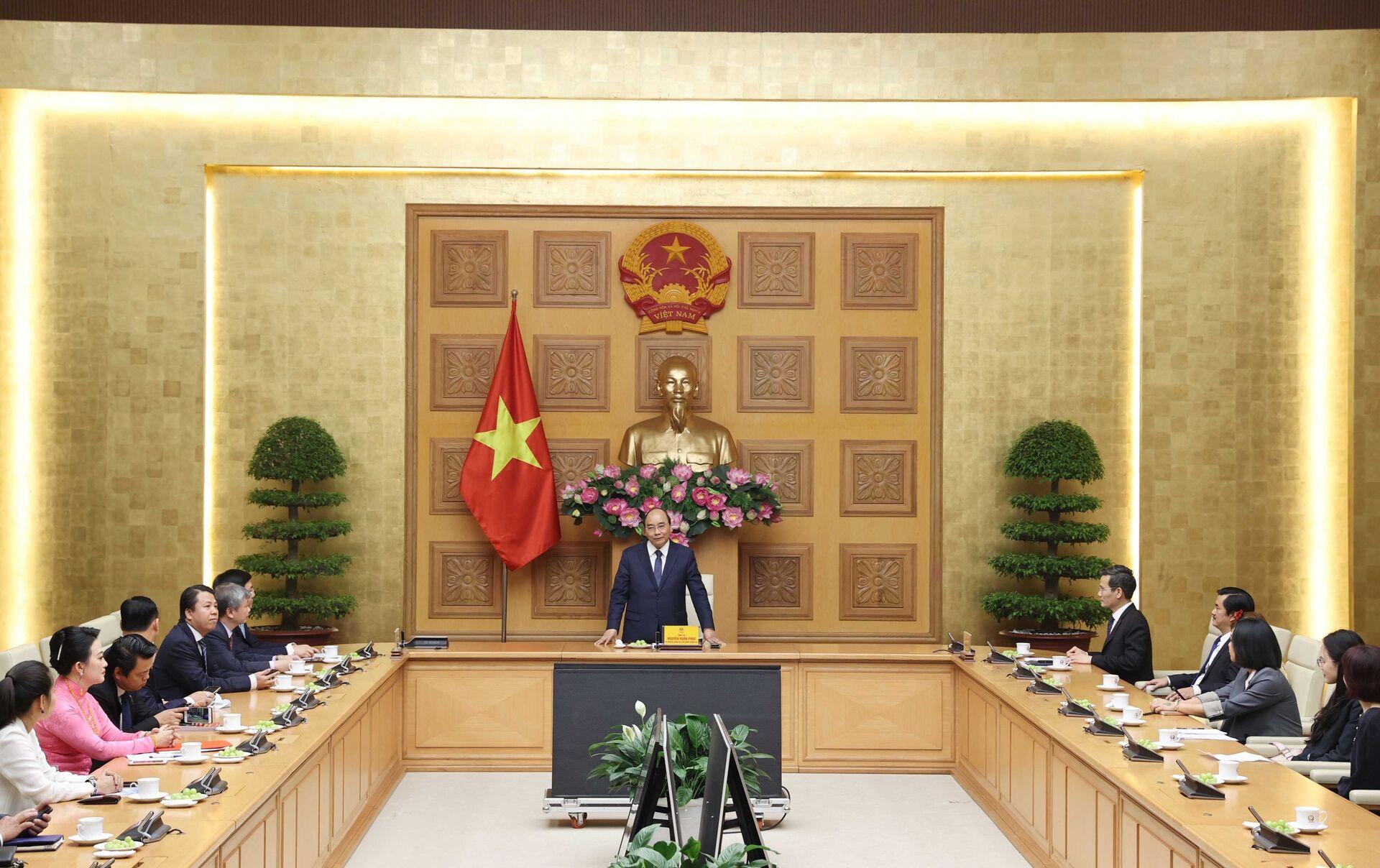 Thủ tướng Nguyễn Xuân Phúc: Việt Nam đã vượt qua khó khăn về mọi mặt - Sputnik Việt Nam, 1920, 18.03.2021
