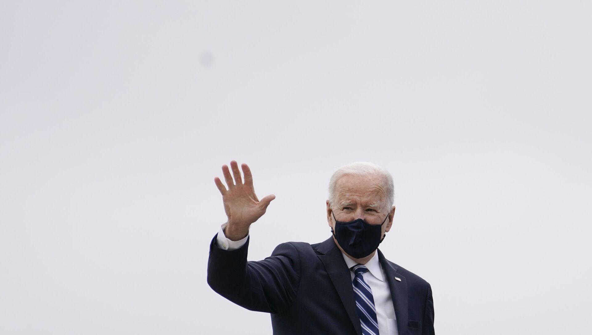 Tổng thống Mỹ Joe Biden - Sputnik Việt Nam, 1920, 19.03.2021