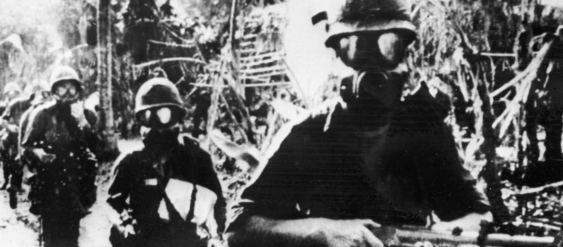 Quân nhân Mỹ . - Sputnik Việt Nam, 1920, 19.03.2021