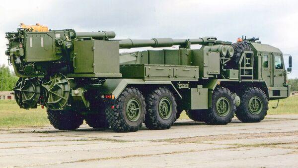 Pháo tự hành cỡ nòng 152 mm 2S43 Malva - Sputnik Việt Nam