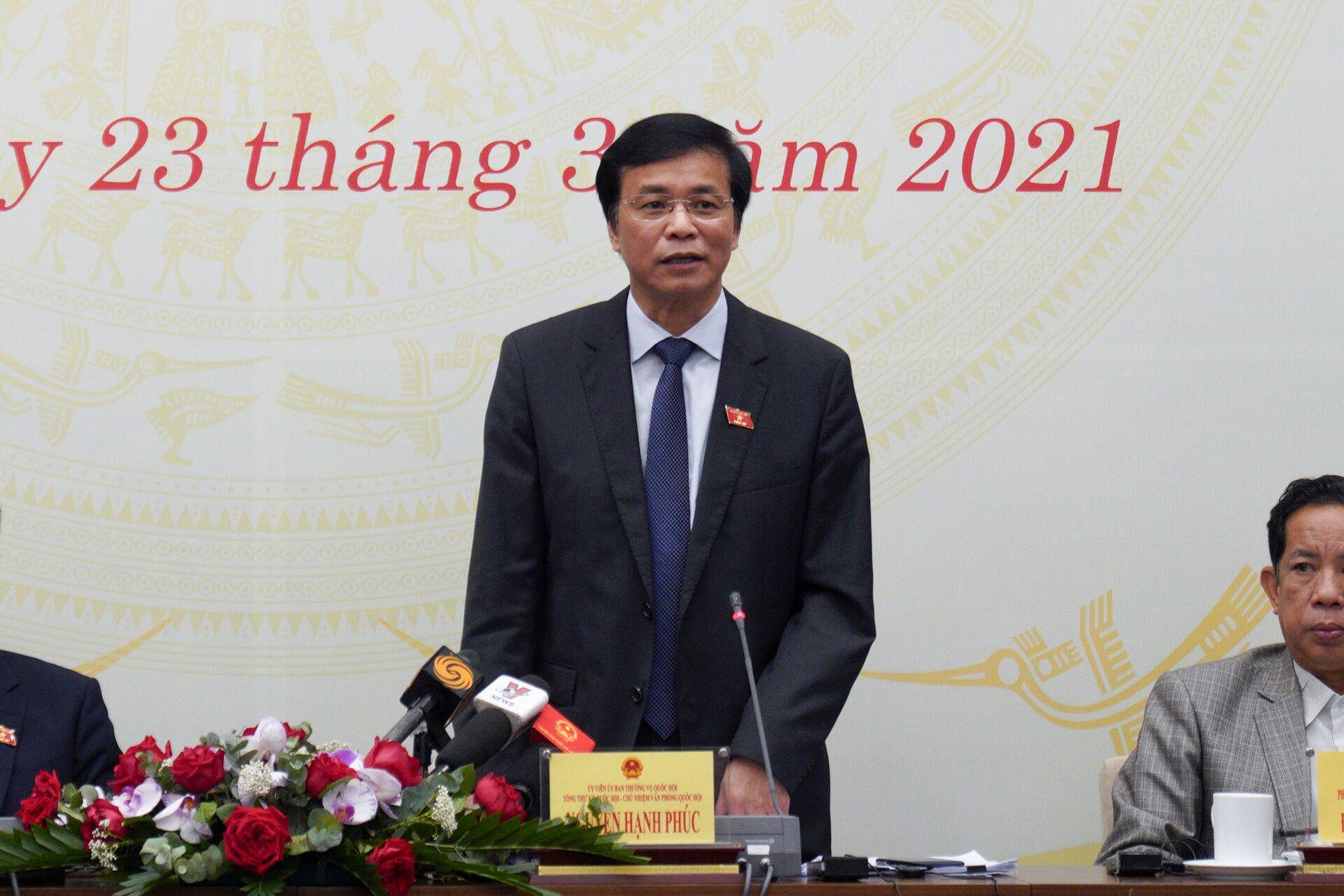 Quốc hội sẽ bầu chức danh Chủ tịch nước, Thủ tướng, Chủ tịch Quốc hội - Sputnik Việt Nam, 1920, 23.03.2021
