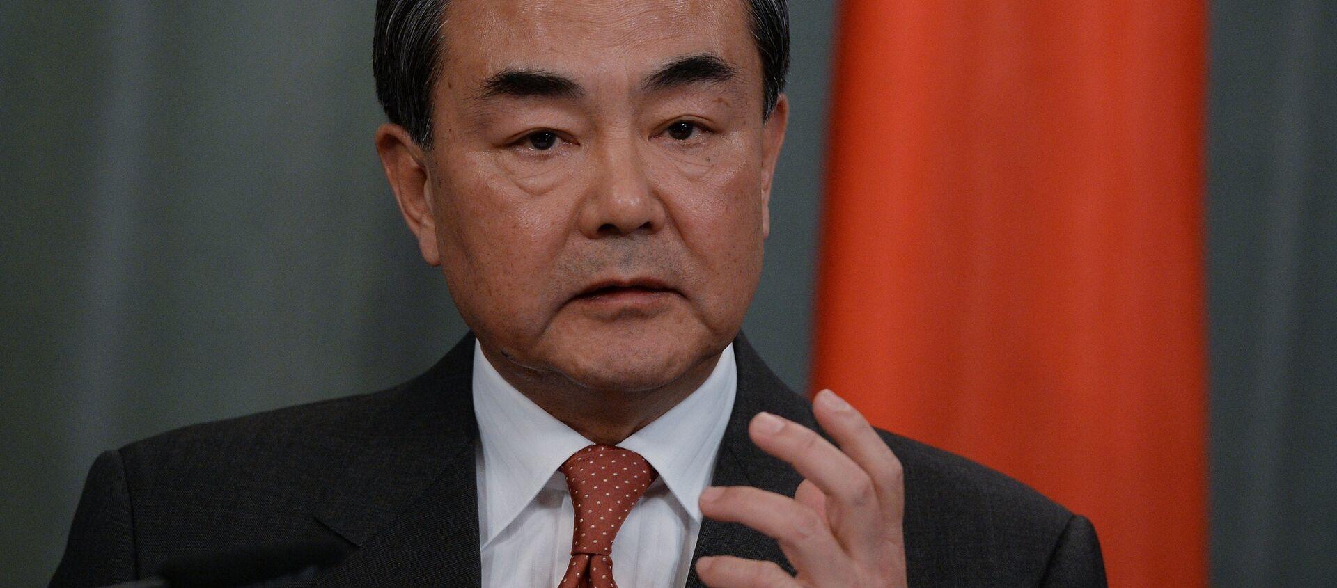 Ngoại trưởng Trung Quốc Vương Nghị - Sputnik Việt Nam, 1920, 24.03.2021