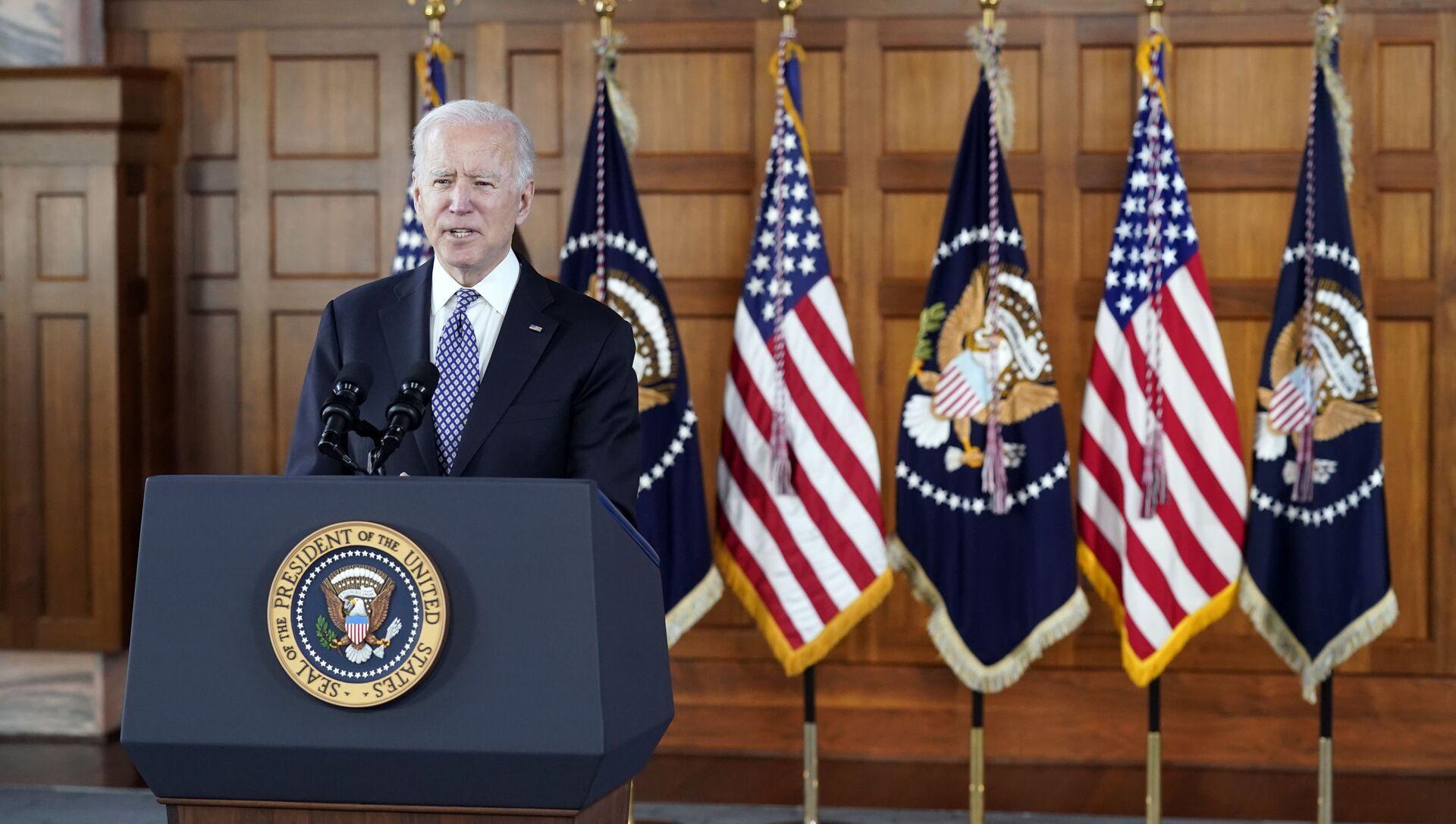 Tổng thống Mỹ Joe Biden. - Sputnik Việt Nam, 1920, 29.03.2021