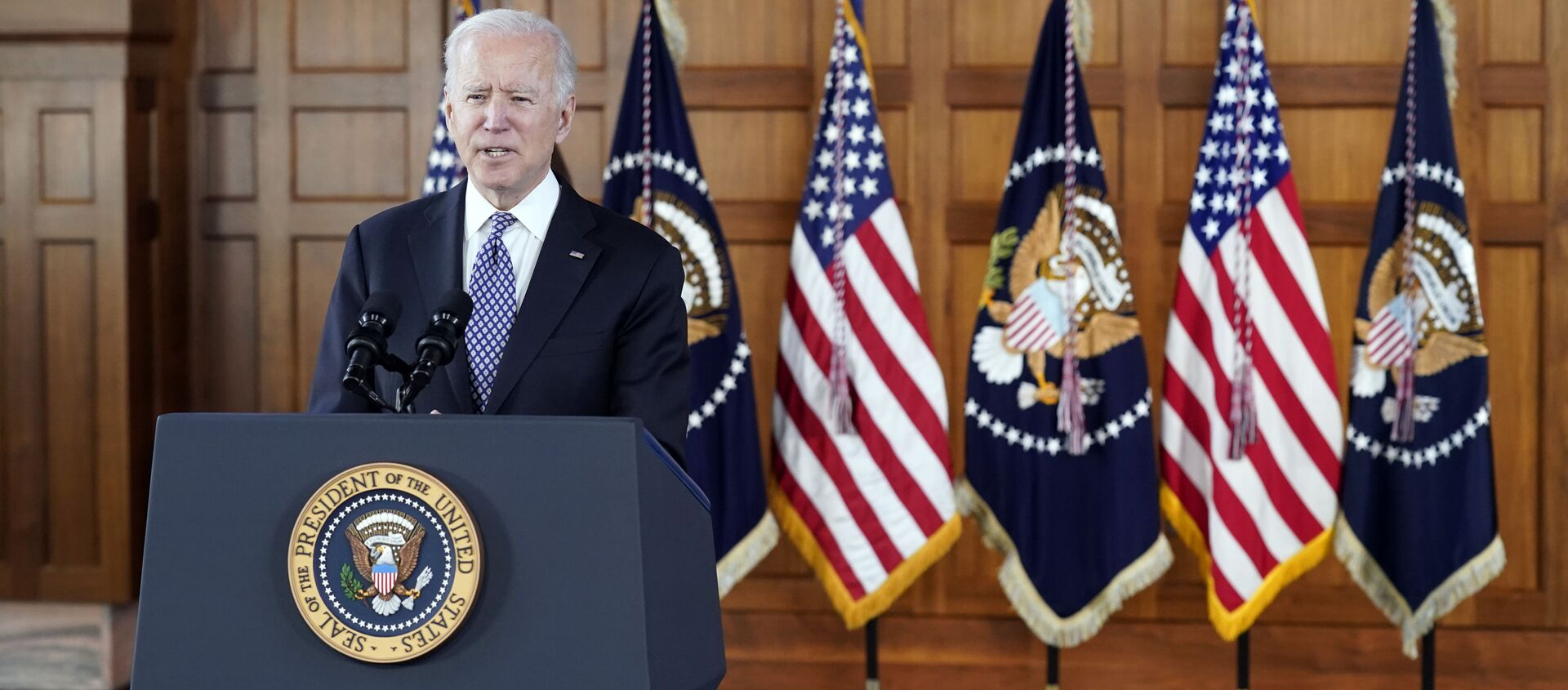 Tổng thống Mỹ Joe Biden. - Sputnik Việt Nam, 1920, 24.03.2021