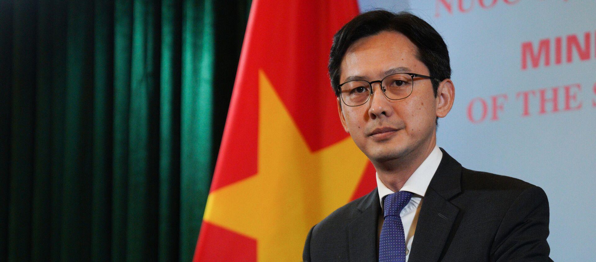 Đỗ Hùng Việt, Vụ trưởng Vụ các Tổ chức quốc tế, Bộ Ngoại giao - Sputnik Việt Nam, 1920, 25.03.2021