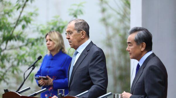 Chuyến thăm của Bộ trưởng Ngoại giao Nga S. Lavrov tới Trung Quốc - Sputnik Việt Nam