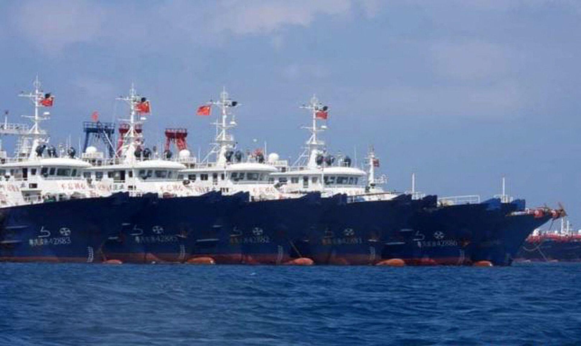 Bộ Ngoại giao Việt Nam: Các tàu Trung Quốc đã xâm phạm chủ quyền của Việt Nam - Sputnik Việt Nam, 1920, 25.03.2021