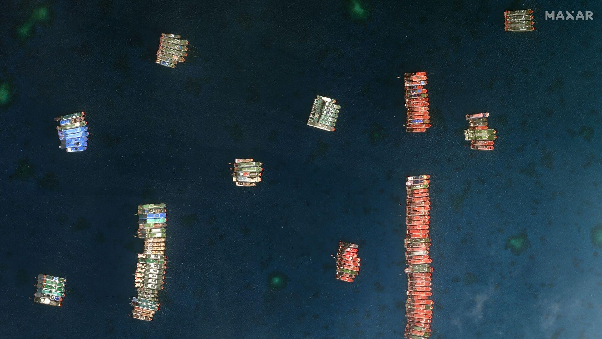 Tàu Trung Quốc ở Biển Đông. - Sputnik Việt Nam, 1920, 30.03.2021