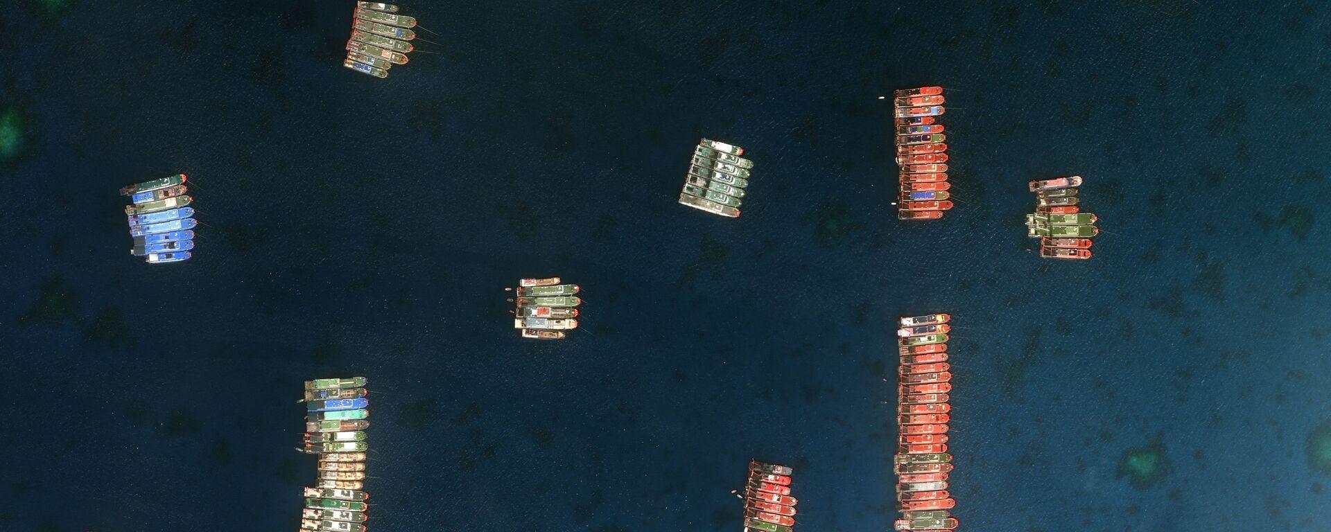 Tàu Trung Quốc ở Biển Đông. - Sputnik Việt Nam, 1920, 05.08.2021