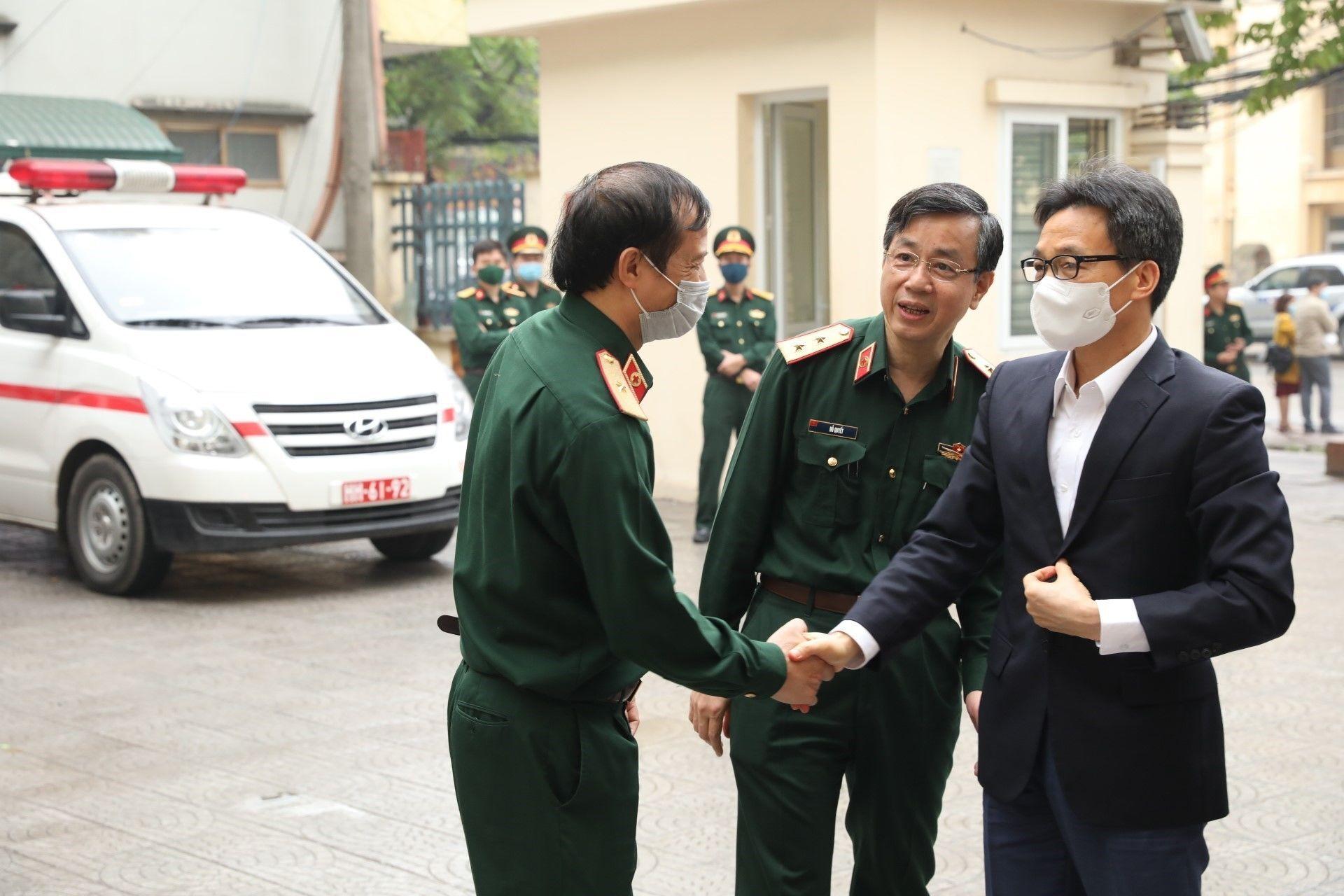 Phó thủ tướng Vũ Đức Đam tiêm thử nghiệm vaccine 'Made in Vietnam' - Sputnik Việt Nam, 1920, 26.03.2021