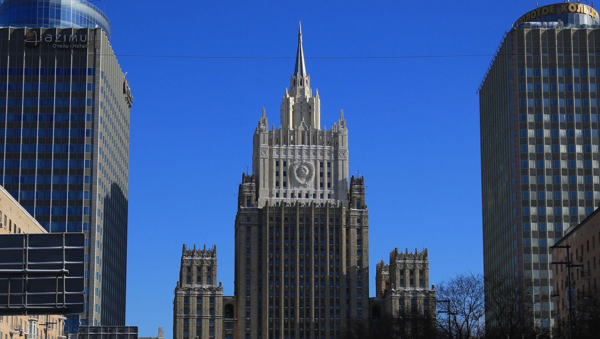 Tòa nhà của Bộ Ngoại giao Liên bang Nga. - Sputnik Việt Nam, 1920, 26.03.2021