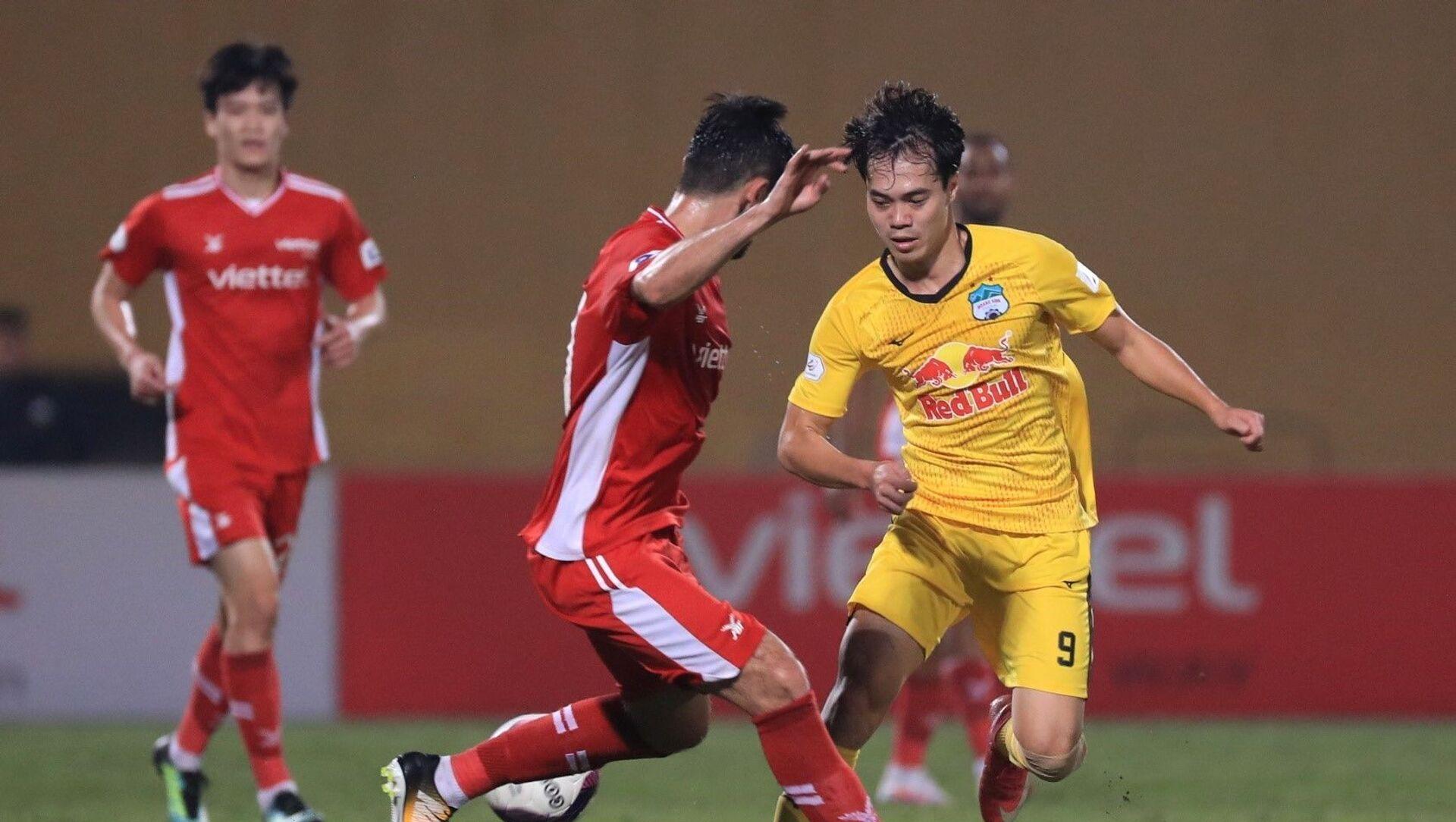 LS V.League 1 - 2021: HAGL thắng đậm đà 3-0 ngay tại sân nhà Viettel - Sputnik Việt Nam, 1920, 27.03.2021