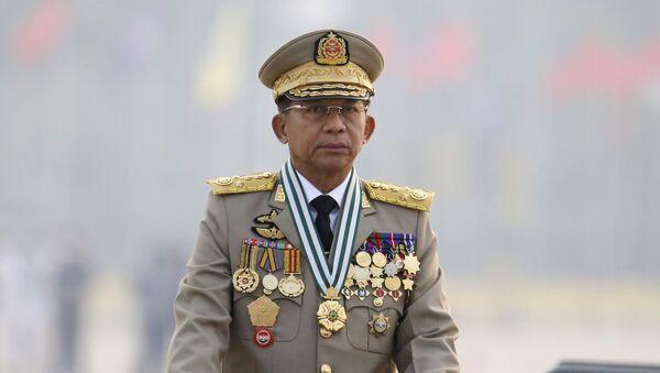 Tổng Tư lệnh Các lực lượng Vũ trang Myanmar, Thượng tướng Min Aung Hlaing. - Sputnik Việt Nam