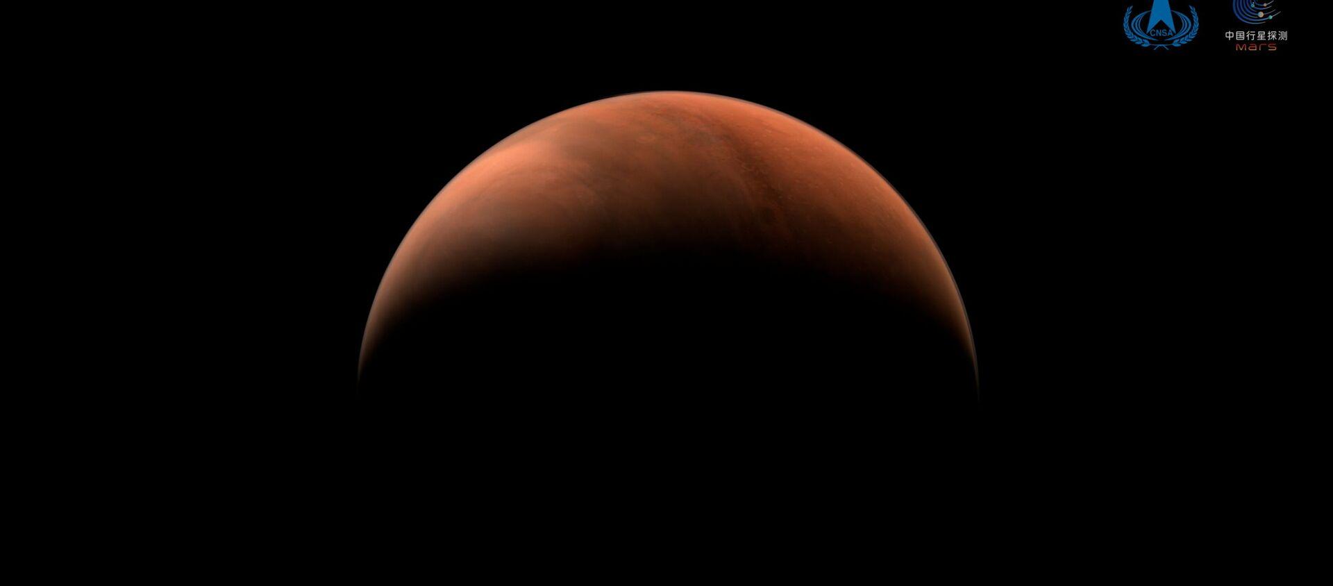 Ảnh chụp sao Hỏa do tàu thăm dò vũ trụ Thiên vấn-1 thực hiện. - Sputnik Việt Nam, 1920, 28.03.2021
