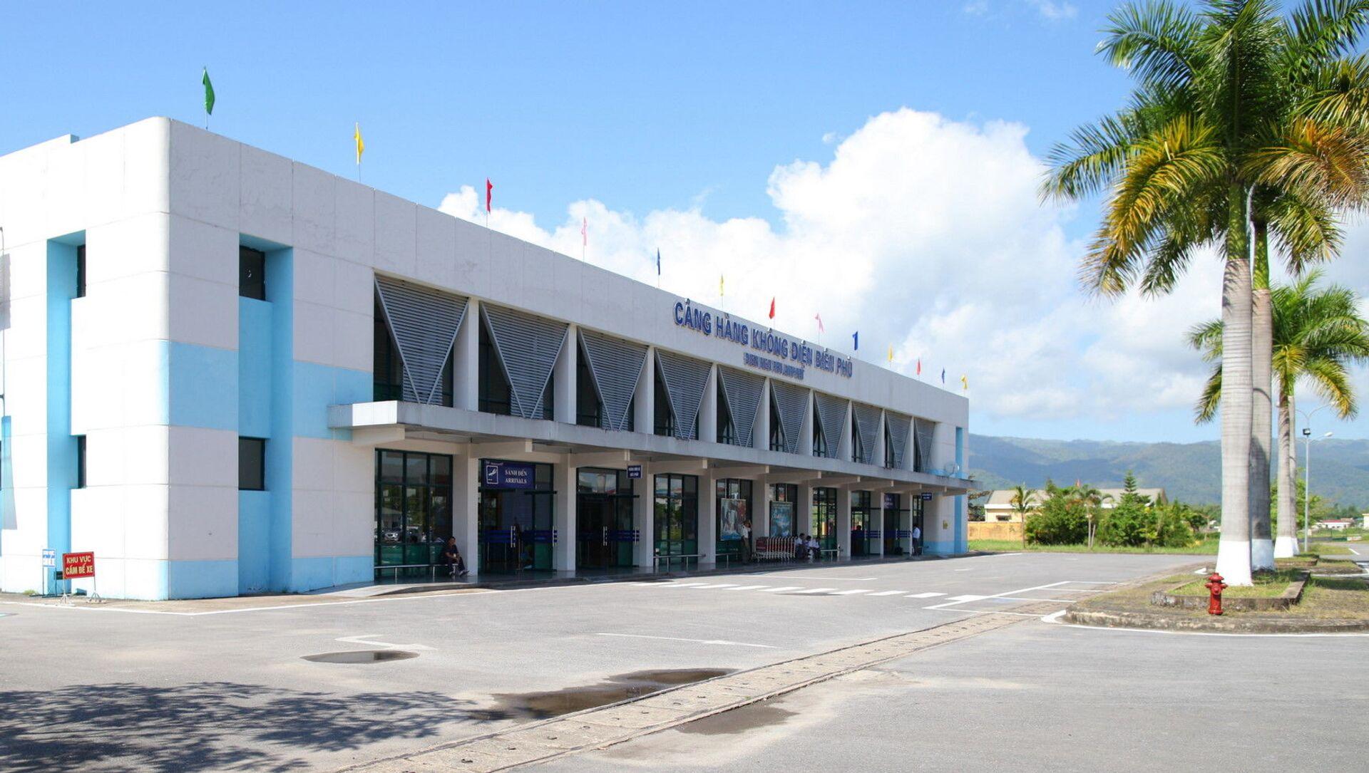 Tòa nhà sân bay Điện Biên Phủ ở Việt Nam - Sputnik Việt Nam, 1920, 28.03.2021