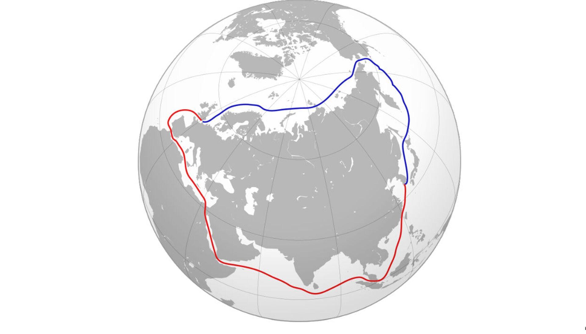 Phương án thay thế Kênh đào Suez do Nga đề xuất có tiềm năng lớn - Sputnik Việt Nam, 1920, 29.03.2021