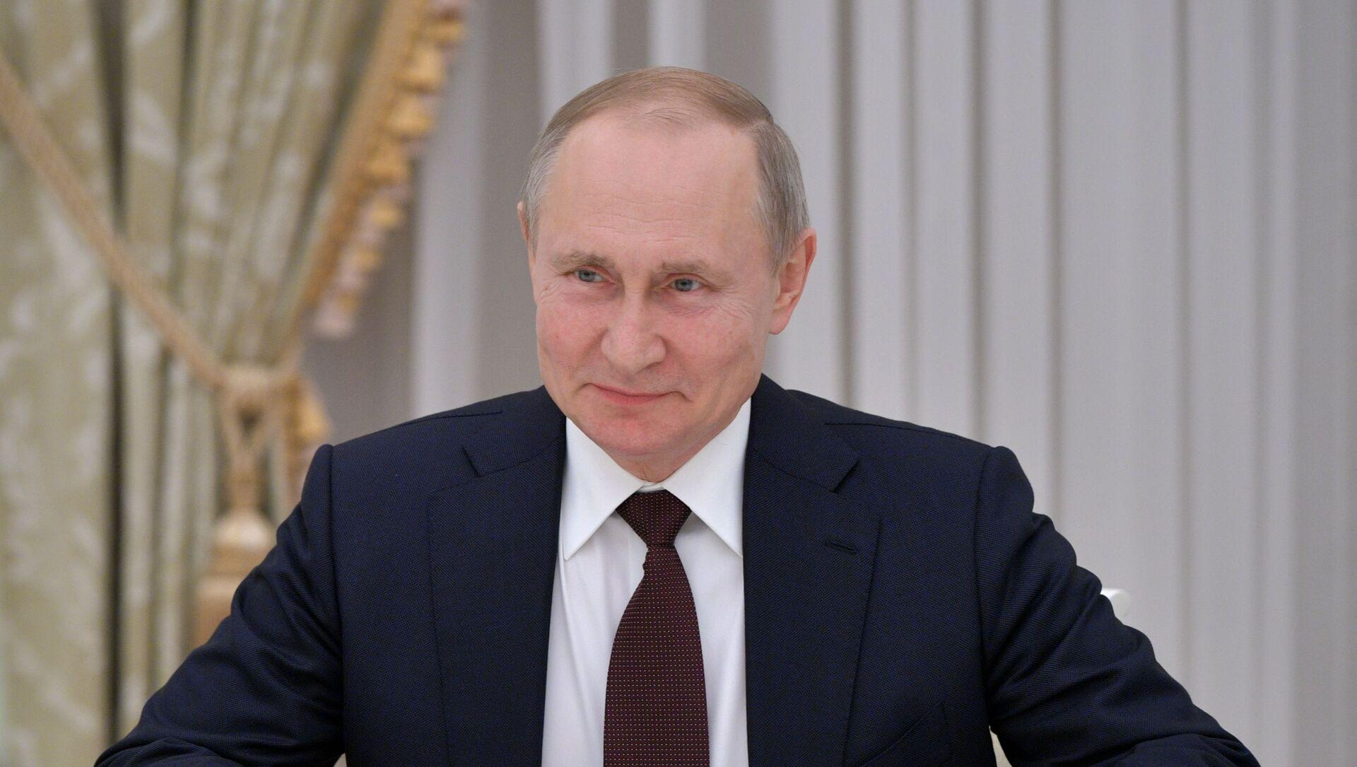 Tổng thống Nga Vladimir Putin. - Sputnik Việt Nam, 1920, 30.03.2021