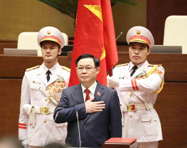 Chủ tịch Quốc hội Vương Đình Huệ tuyên thệ nhậm chức - Sputnik Việt Nam
