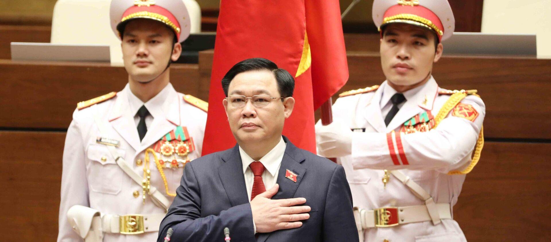Chủ tịch Quốc hội Vương Đình Huệ tuyên thệ nhậm chức - Sputnik Việt Nam, 1920, 31.03.2021