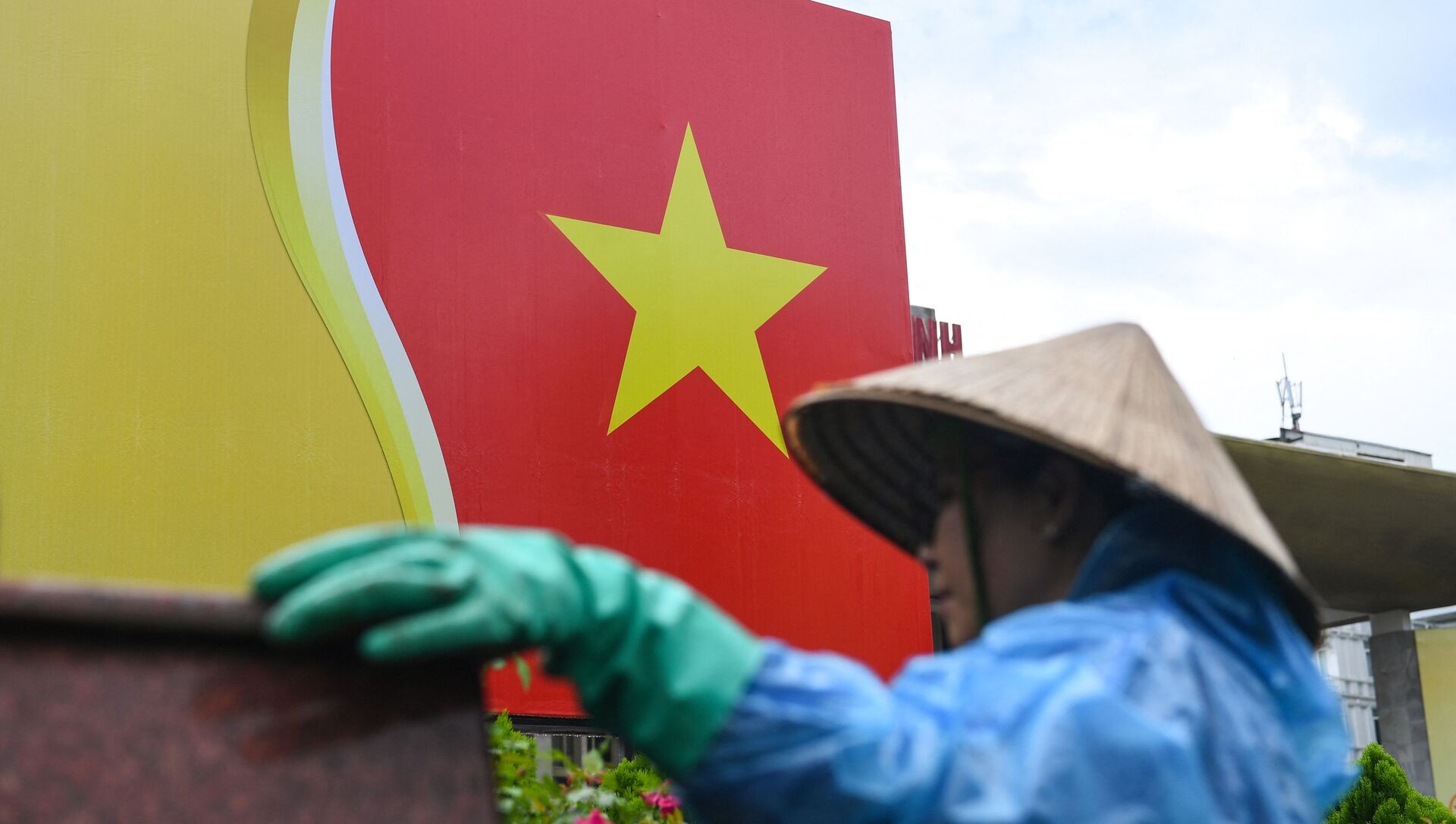 Quốc kỳ Việt Nam. - Sputnik Việt Nam, 1920, 01.04.2021