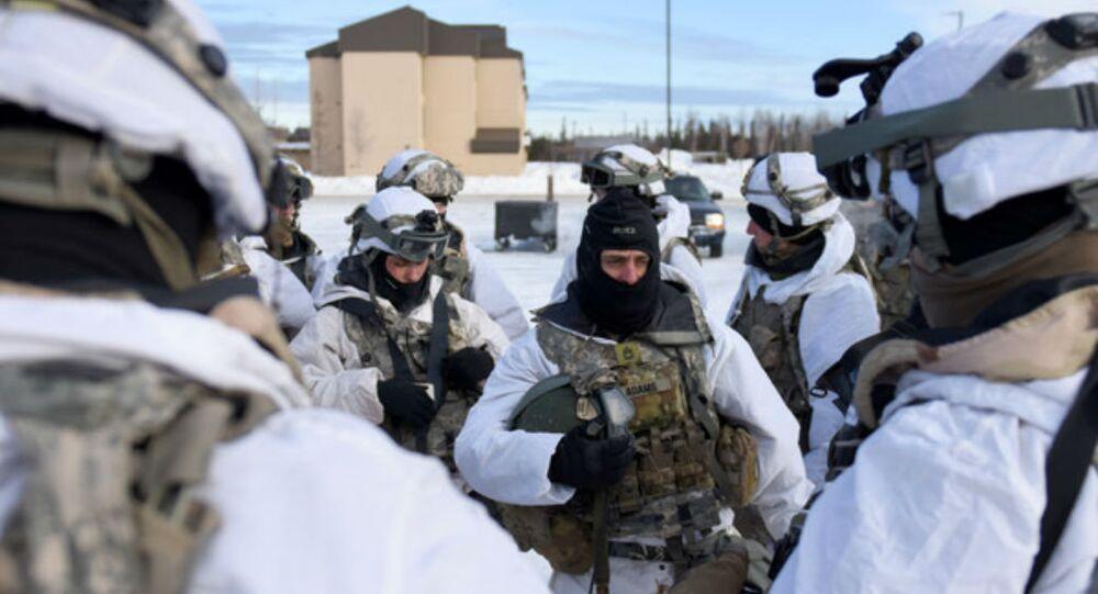 Lực lượng hoạt động đặc biệt chiến đấu với điều kiện bắc cực