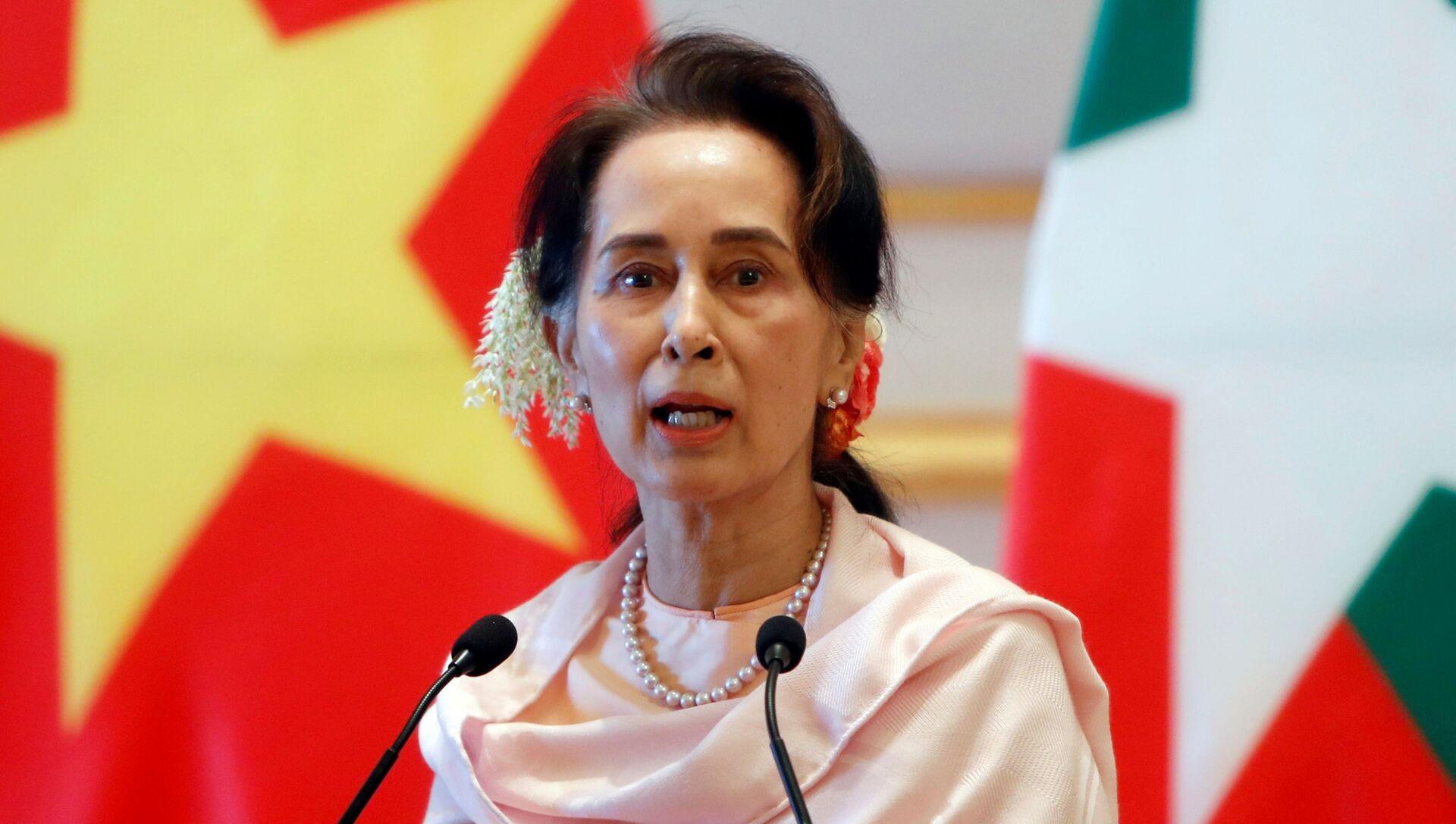 Aung San Suu Kyi - Sputnik Việt Nam, 1920, 31.03.2021