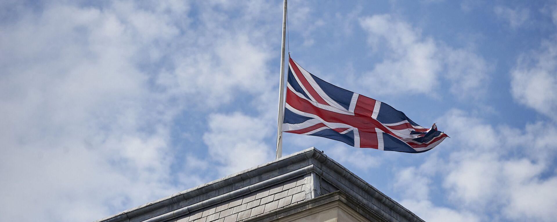 Quốc kỳ Anh trên tòa nhà Bộ Ngoại giao Anh ở London. - Sputnik Việt Nam, 1920, 16.04.2021