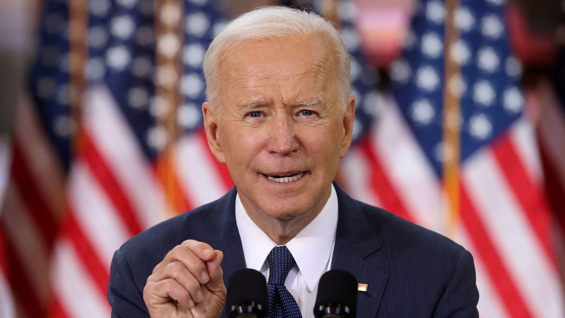 Tổng thống Mỹ Joe Biden. - Sputnik Việt Nam, 1920, 08.10.2021