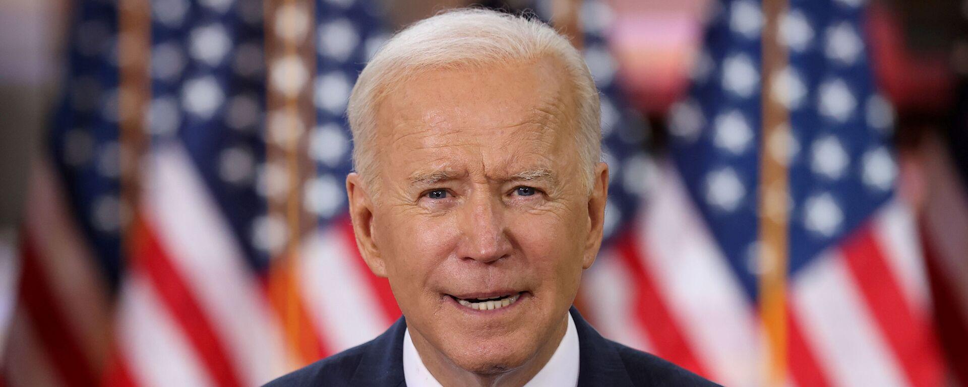 Tổng thống Mỹ Joe Biden. - Sputnik Việt Nam, 1920, 01.04.2021
