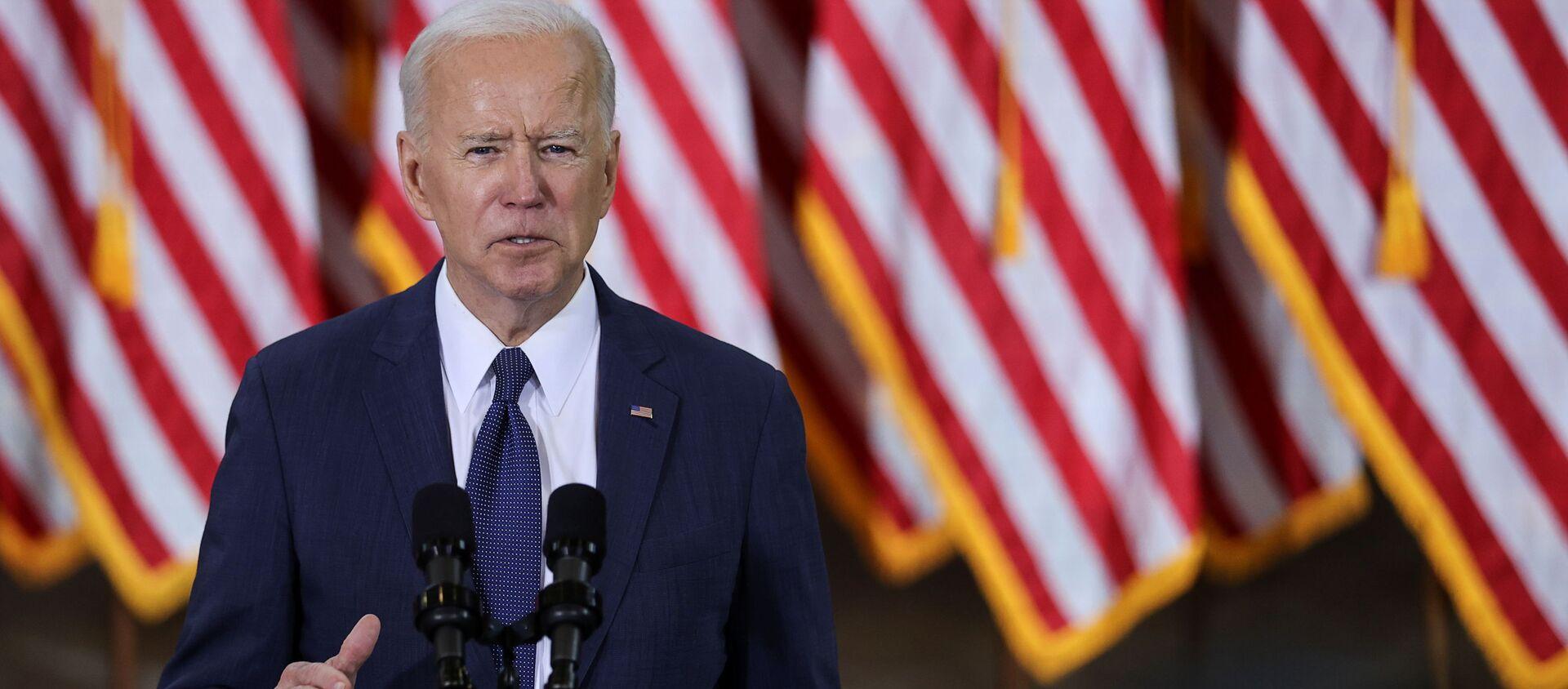 Tổng thống Mỹ Joe Biden. - Sputnik Việt Nam, 1920, 09.04.2021