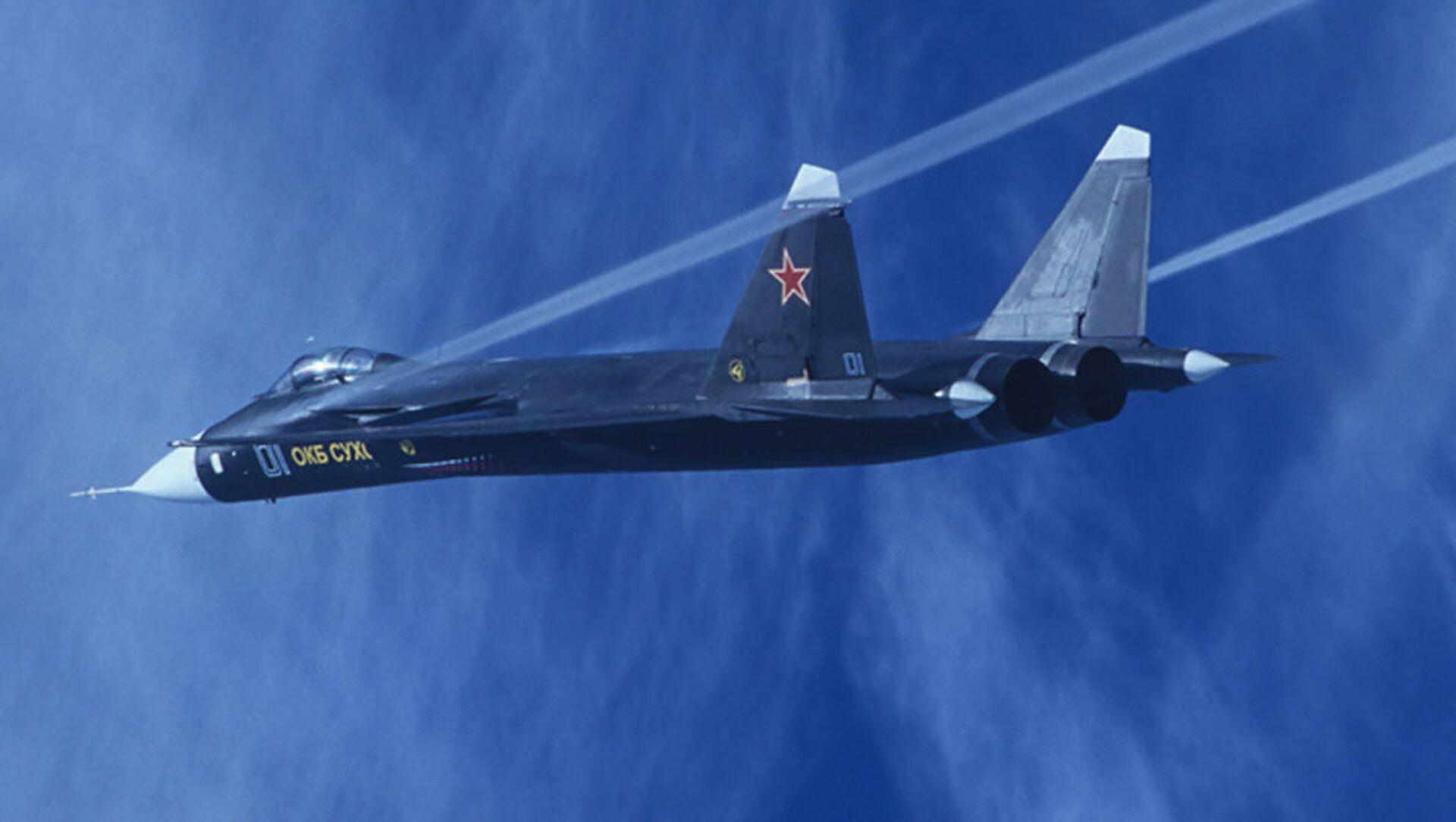 Máy bay chiến đấu thử nghiệm Su-47 Berkut - Sputnik Việt Nam, 1920, 02.04.2021