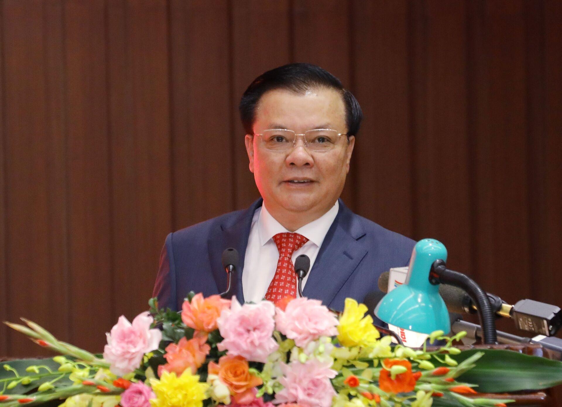 Ông Đinh Tiến Dũng nhận quyết định làm Bí thư Thành ủy Hà Nội - Sputnik Việt Nam, 1920, 03.04.2021