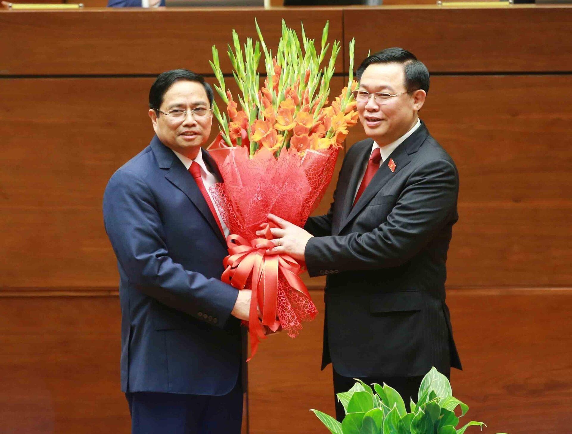 Tân Thủ Tướng Phạm Minh Chính tuyên thệ nhậm chức  - Sputnik Việt Nam, 1920, 05.04.2021