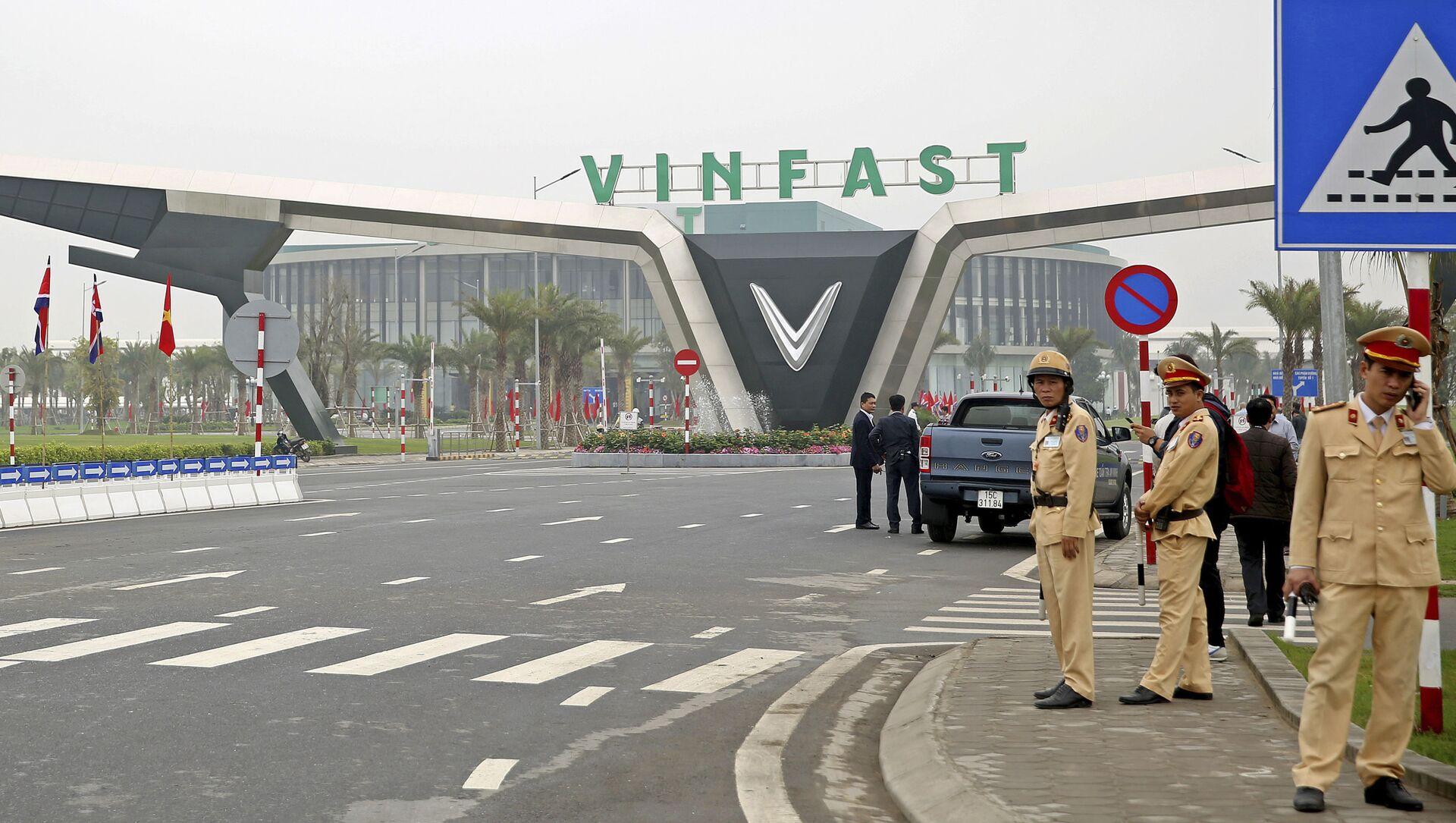 Nhà máy VinFast  - Sputnik Việt Nam, 1920, 05.04.2021