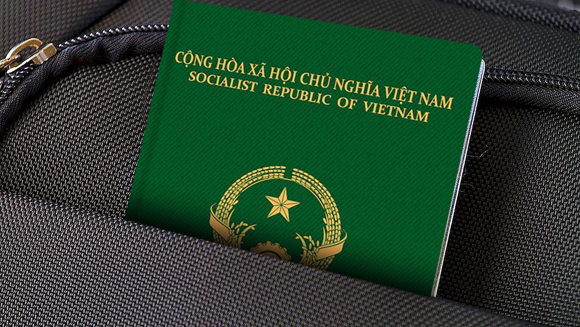 Hộ chiếu Việt Nam. - Sputnik Việt Nam, 1920, 05.07.2021