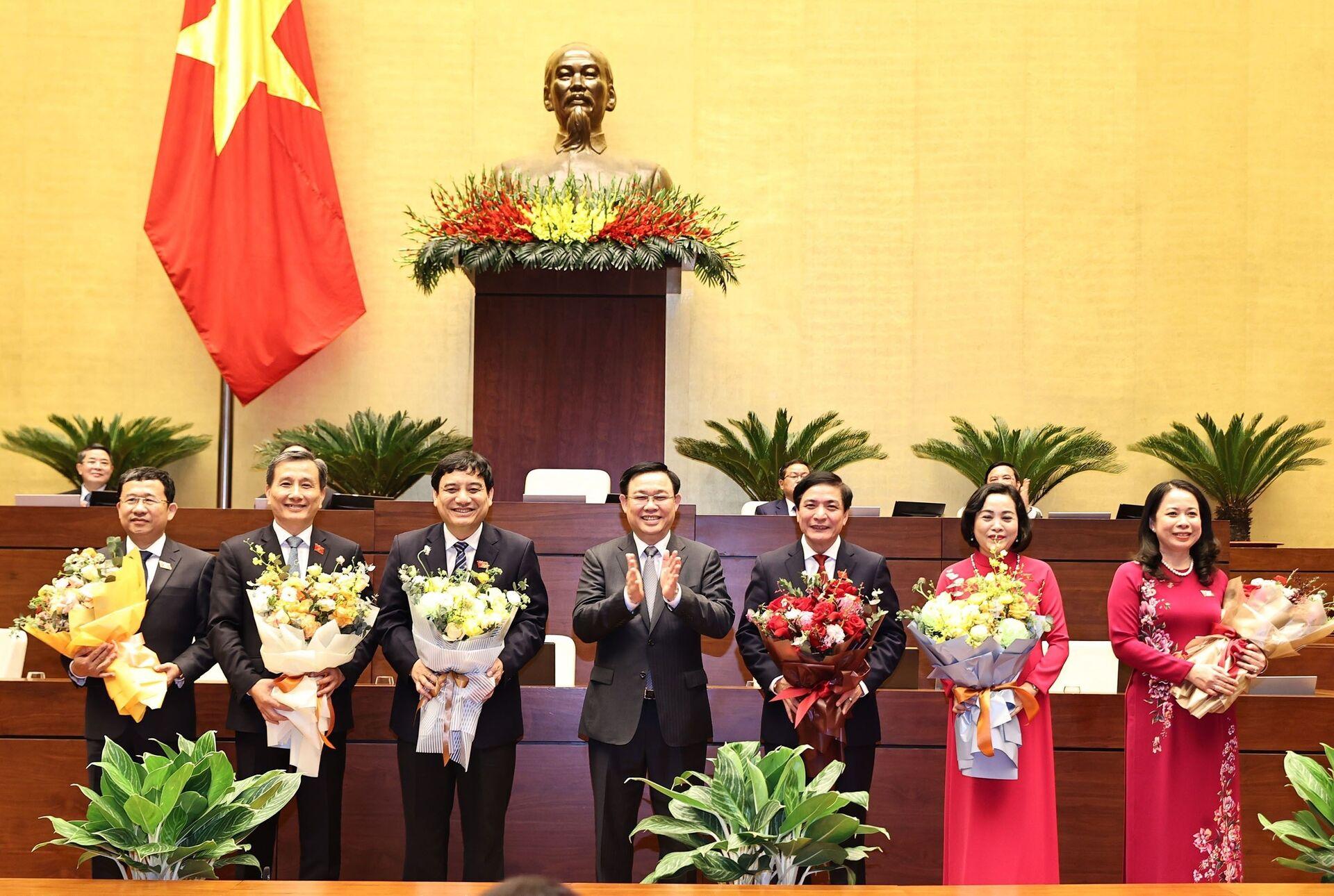 Giới thiệu ông Trần Sỹ Thanh làm Tổng Kiểm toán Nhà nước - Sputnik Việt Nam, 1920, 06.04.2021