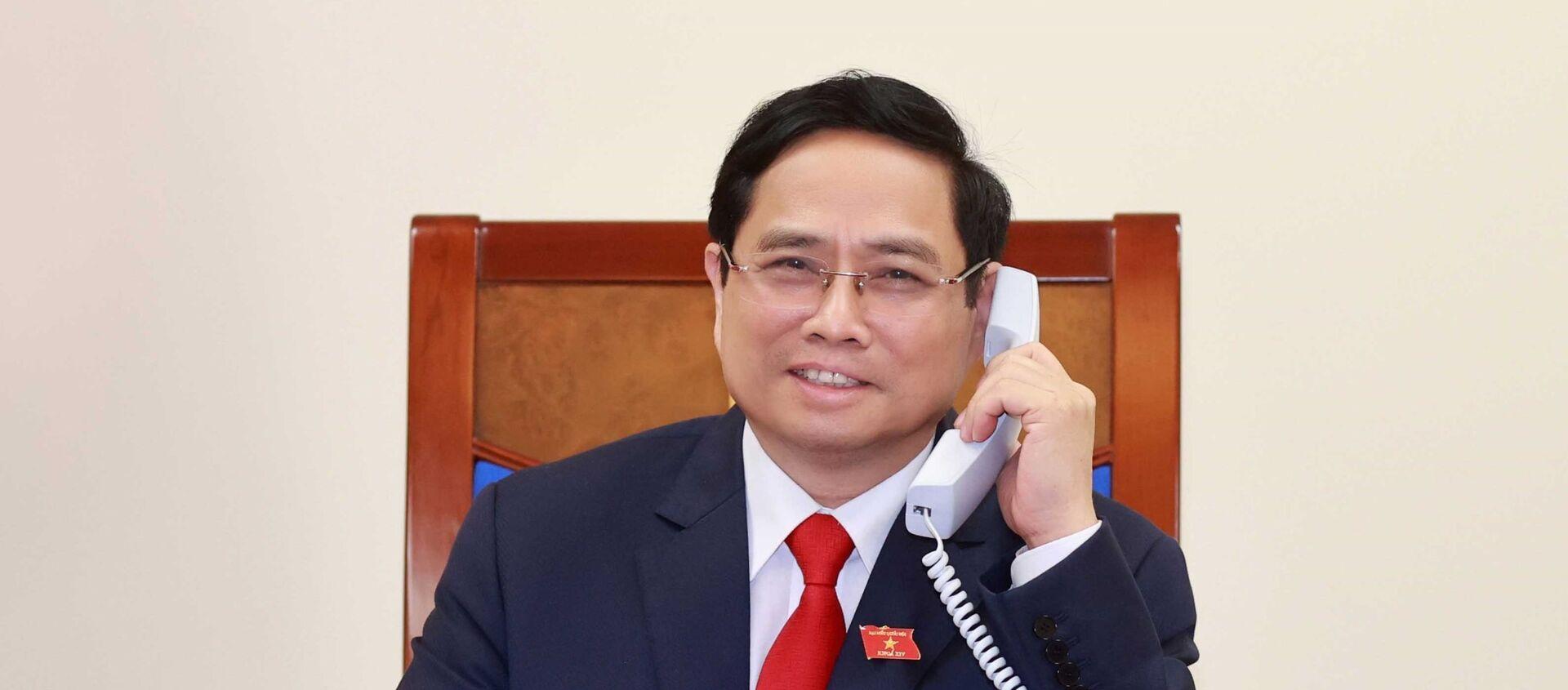 Thủ tướng Chính phủ Phạm Minh Chính.  - Sputnik Việt Nam, 1920, 06.04.2021